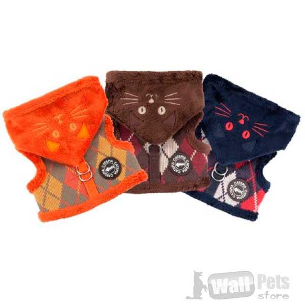 Шлейка для кошек с капюшоном.