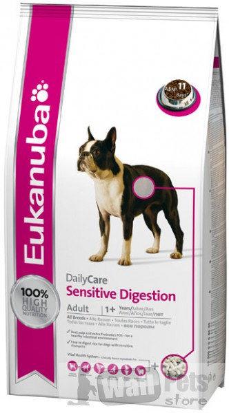 эукануба при больном пищеварении (Adult Sensitive Digestion)