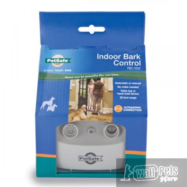 Антилай стационарный для помещений  Этот настольный прибор автоматически прекратит лай собаки, предоставляя хозяину тишину и покой в собственном доме. Просто положить его на столе или в комнате, где в собака лает больше всего. Всякий раз, когда собака лает, всех домашних животных в диапазоне услышите 2-второй ультразвуковой тон. Можно установить его, чтобы автоматически отключается каждый раз, когда собака лает или вручную нажать кнопку, чтобы сделать тон звука. Собака будет учиться связывать его лай с неприятными пронзительный звук, неслышимый для большинства людей. Большинство собак лаят меньше, в течение нескольких дней. Устройство действует в 25 метров, размером примерно 1-2 комнаты в типовом доме. Добавить дополнительный блок для использования в больших помещениях или одну единицу для каждой комнаты в вашем доме. Если собака лает по всему дому, вместо того, необходим ошейник анти лай.