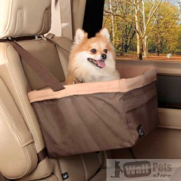 Авто сиденье для собак Medium: 36 см х 30 см х 20 см