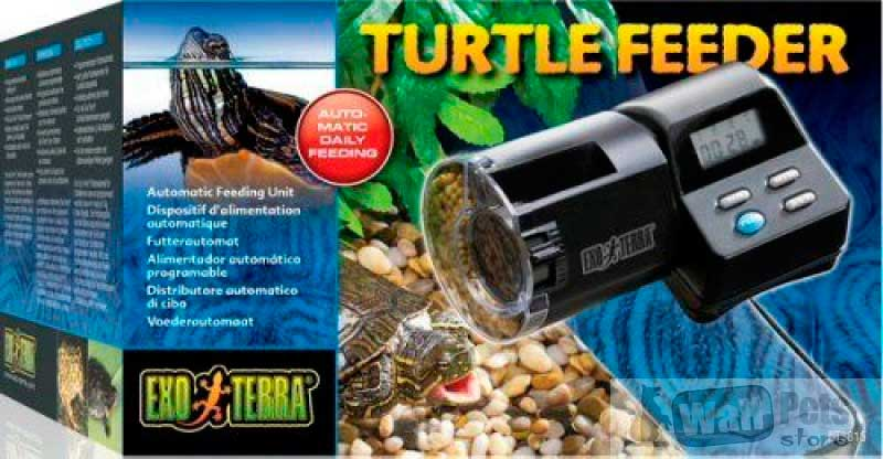 Автоматическая кормушка для черепах