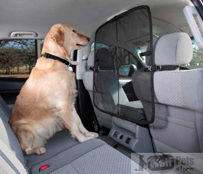 Барьер на переднее сиденье в авто