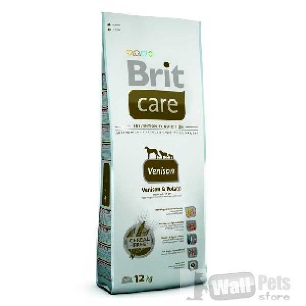 Brit Care для взрослых собак с оленем (Vension)
