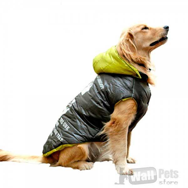 Водонепроницаемая зимняя куртка для больших собак