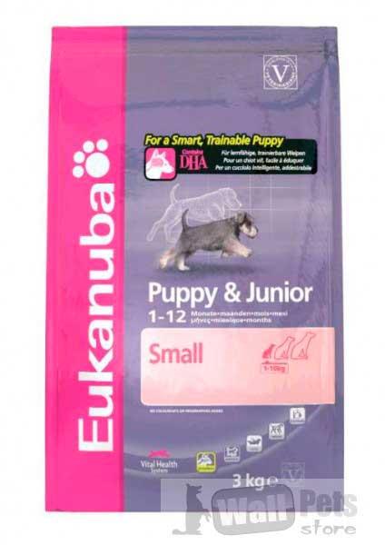 Для щенков мелких пород (Puppy & Junior Small Breed)