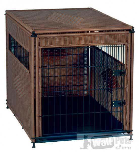 Клетки-домики для собак декорированные