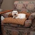 Лежак-чехол с валиком на кресло