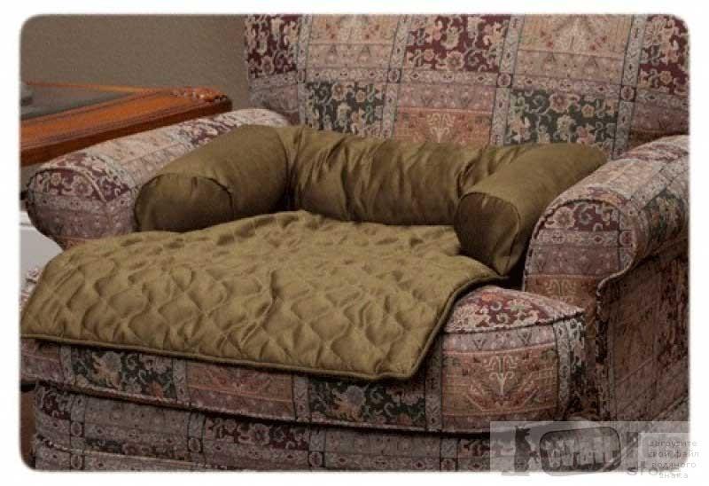 Чехол-лежак с валиком на кресло
