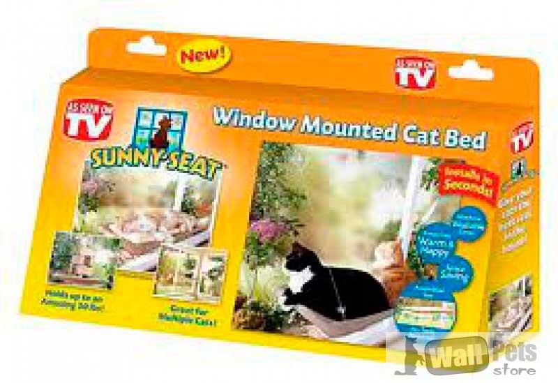 Лежак на окно для кошек