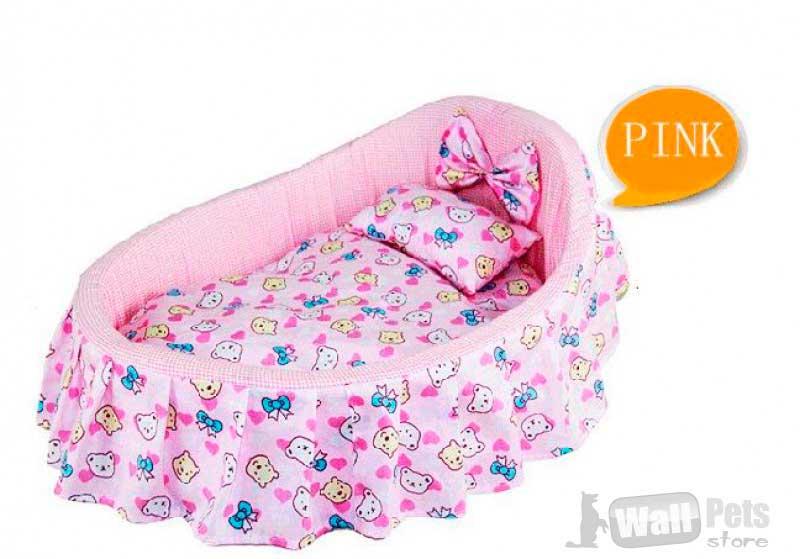 Лежанка-кроватка для собак и кошек
