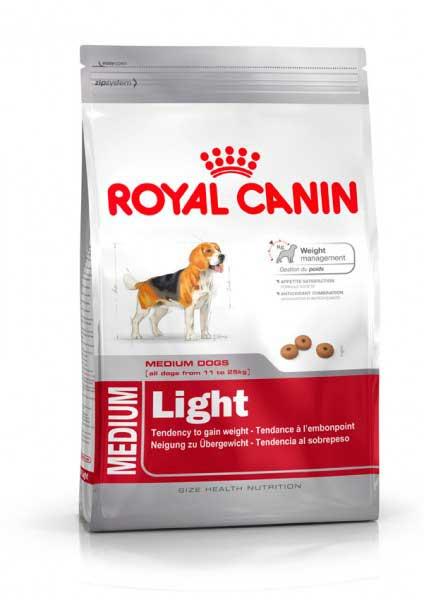 Royal Canin для взрослых  собак средних пород низкокалорийный (Medium Light 27)