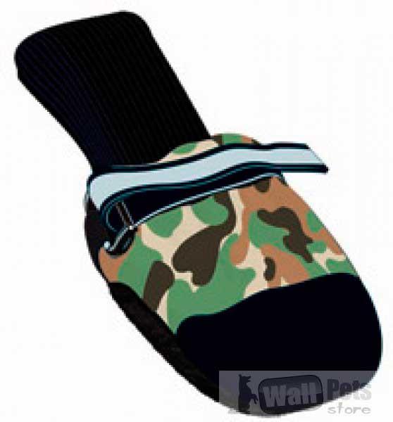 всепогодная  обувь для собак на кожаной подошве