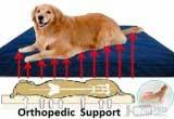 Большой ортопедический лежак