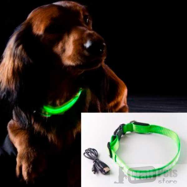 Ошейник светящейся для собак