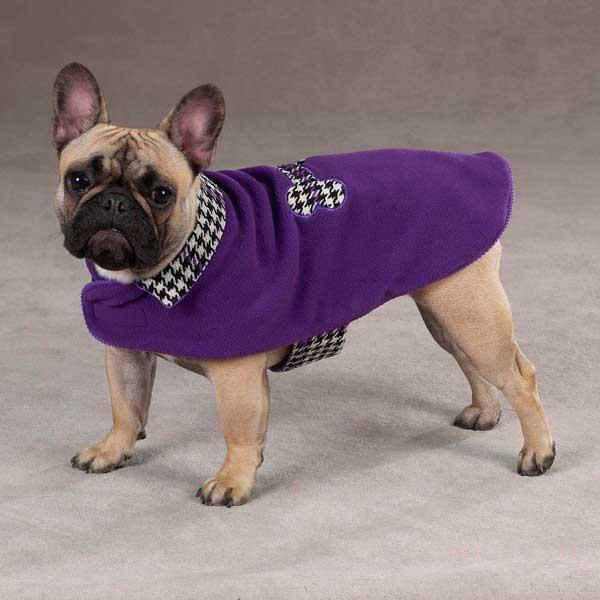 Пальто- комбинезон для собак двустороннее