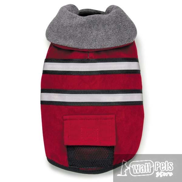 Пальто для собак с поясом