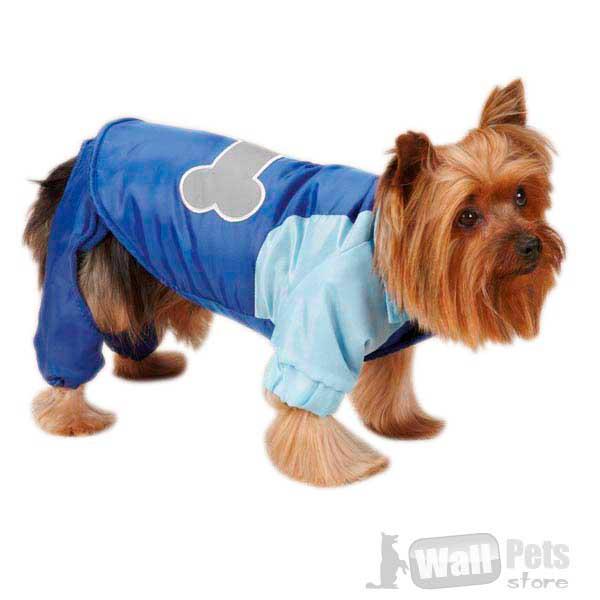 Парка-комбинезон для зимы для собак, одежда для йорков