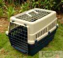Пластиковая переноска для кошек и собак