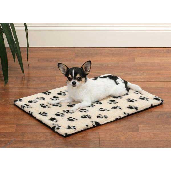 Плюшевый лежак для собак