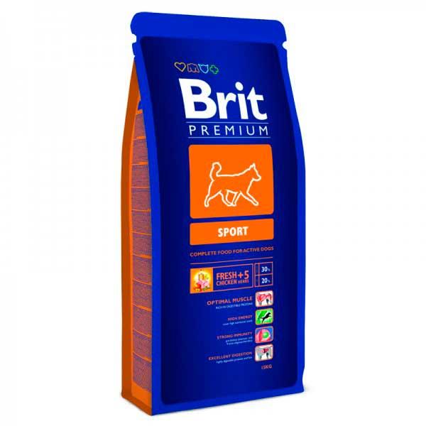 Brit Premium для активных собак