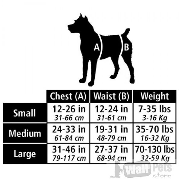 шлейка для больных собак
