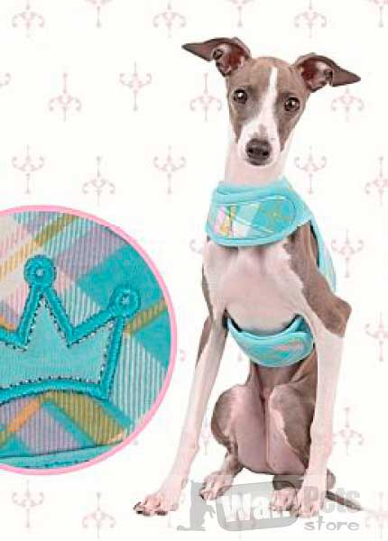 Шлейка для собак принцесса
