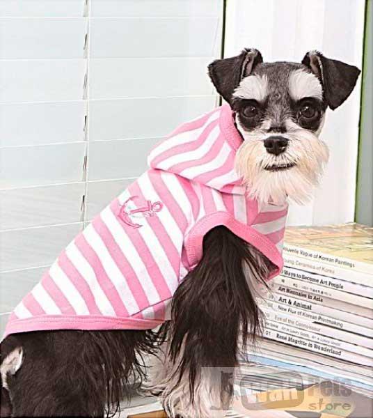 Толстовка для собак в морском стиле