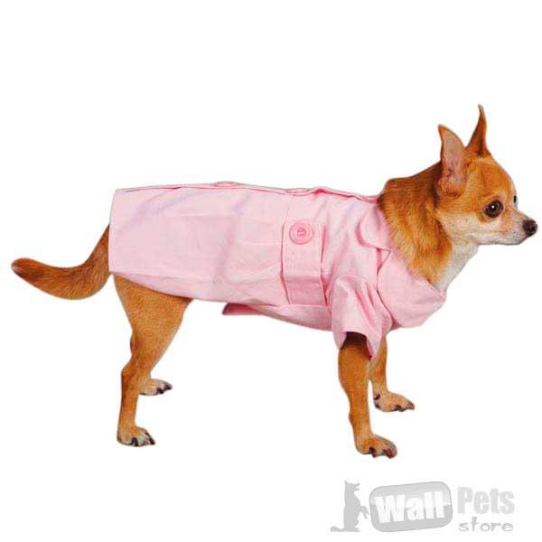 Тренч-пальто для собак, одежда для собак
