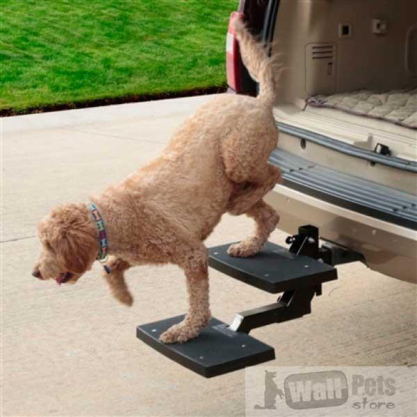 Ступеньки для собак в автомобиль