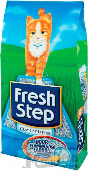 Fresh Step Тройная защита. Впитывающий наполнитель