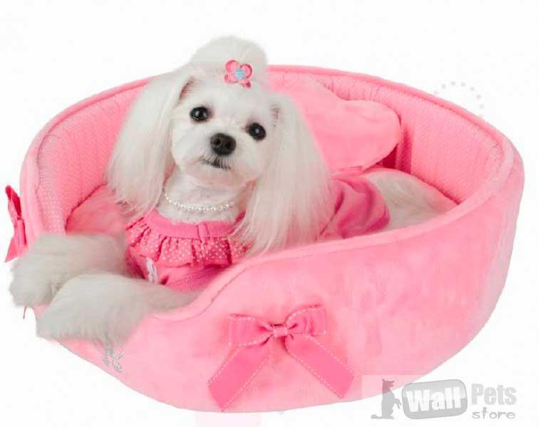 Лежак плюш для собак