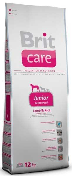 Brit Care для щенков от 25 кг с ягненком и рисом