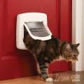 Staywell® Magnetic 4 позициями Делюкс дверца для кошек