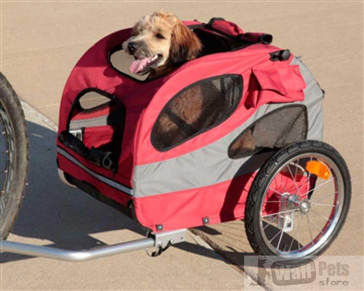 Вело коляска для собак ( трейлер для собак)
