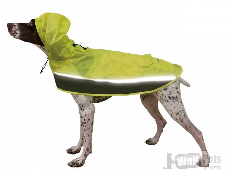 Дождевик для собак, с сумкой