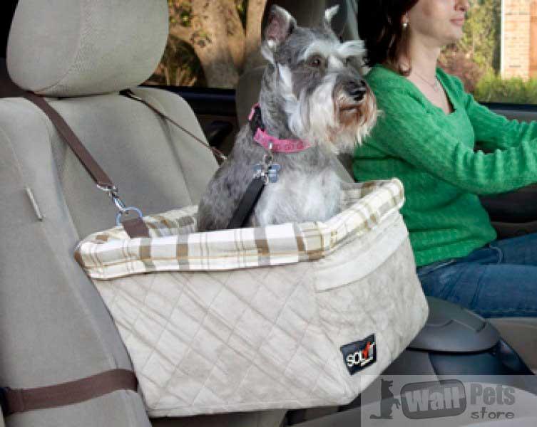 Авто сиденье для средних собак