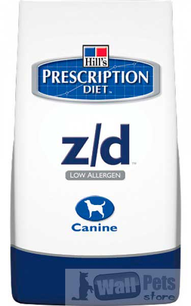 Hill's Хиллс Prescription Diet™ Z/D для собак лечение пищевых аллергий