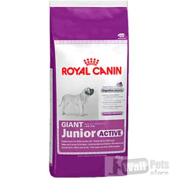 ROYAL CANIN, для щенков-юниоров с высокими энергетическими потребностями (Giant Junior Active)