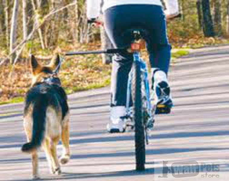 Велосипедный поводок для собаки