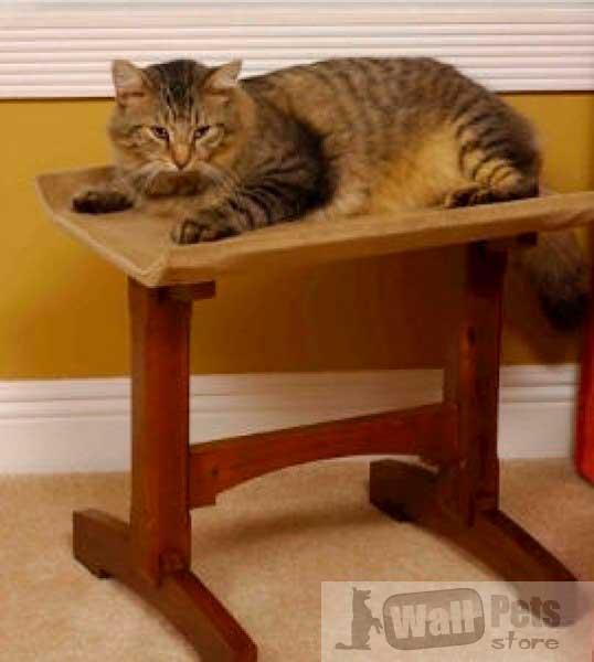 Мебель для кошки (лежанка для кошки, сиденье кошке, одинарное)