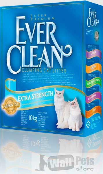 Эвер Клин Extra Strength Unscented Наполнитель д/чувствительных кошек