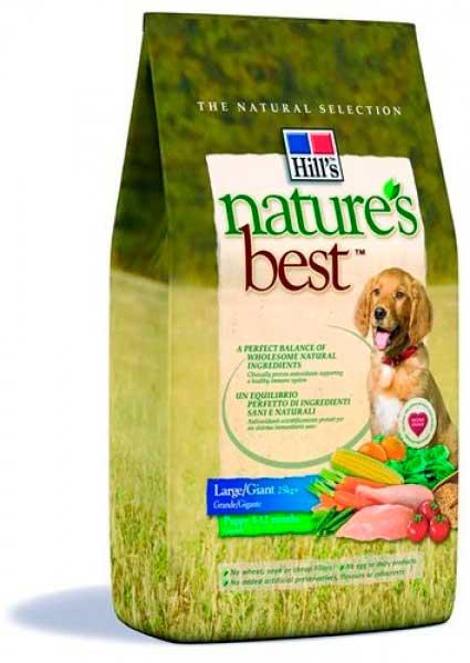 Hills Nature's Best для щенков крупных пород