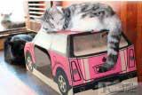 Домик-машинка для кошки
