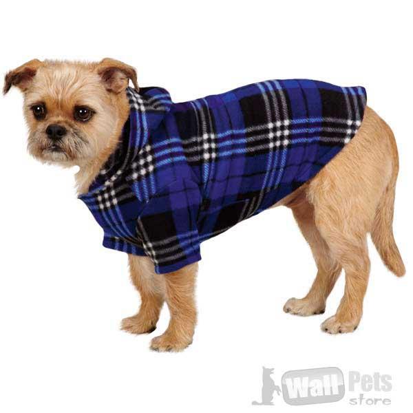 Одежда для собак, куртка-шотландка для собак(одежда для йорков)