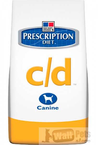 Hill's Хиллс Prescription Diet™ C/D (СиДи) для собак от МКБ, струвиты (Urinary)