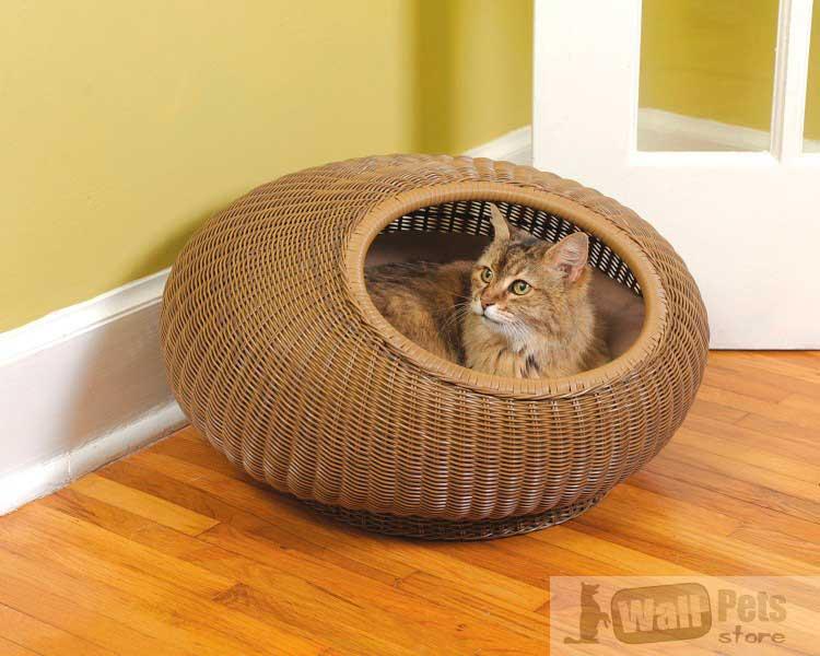 Лежаки для кошек, плетенные. Лежаки для кошек купить недорого.