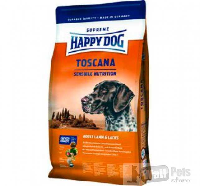 Happy Dog Toscana( с ягненком и лососем (Тоскана))