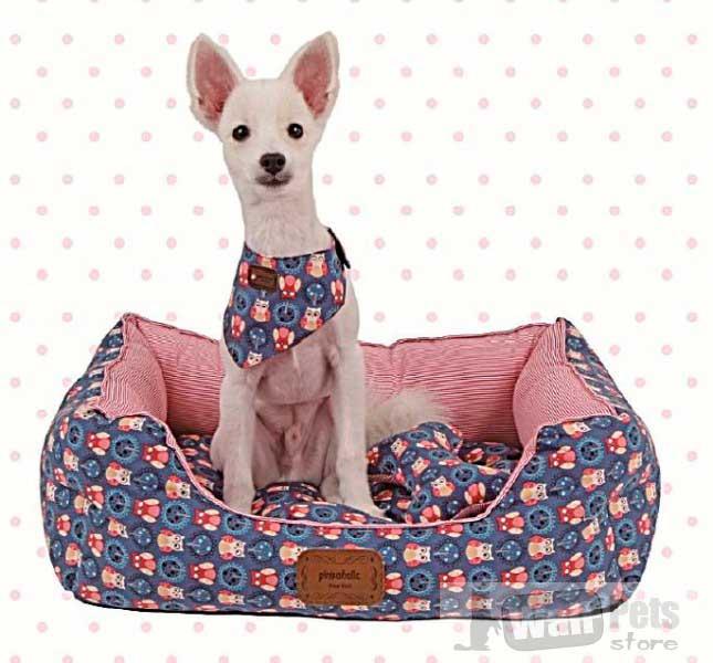 Лежак для собак цветной