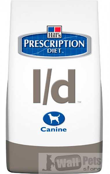 Hill's Хиллс Prescription Diet™ L/D (ЛД) для собак Лечение печени (Hepatic)