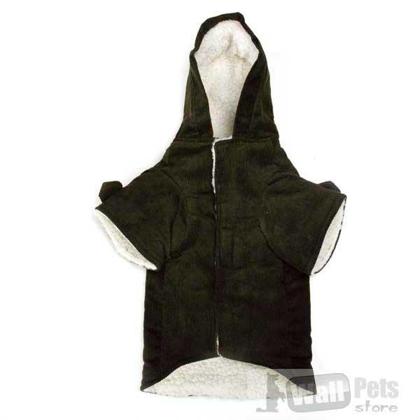 Вельветовое пальто для собак (одежда для йорков)